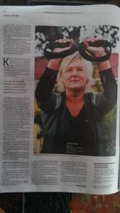 Ett fantastiskt reportage här med härliga Karina, en av mina hemma kunder.