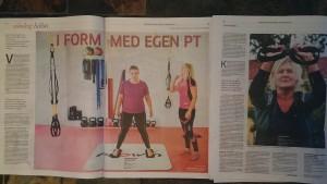 Totum Fitness pt kunder i Göteborgs Posten